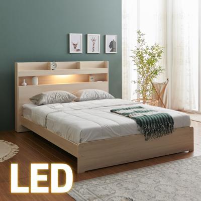홈쇼핑 LED 침대 SS (양면스프링매트) KC200