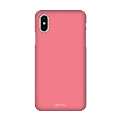 나인어클락 컬러 슬림핏 하드 케이스 - 핑크