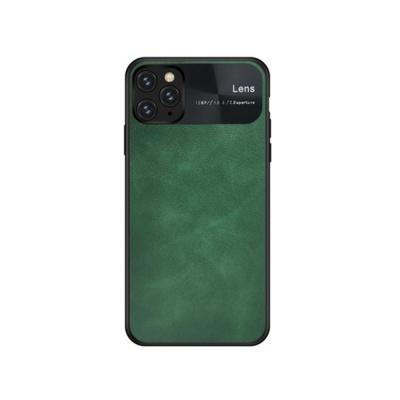 아이폰11 프로 맥스 렌즈보호 패션 컬러 가죽 케이스