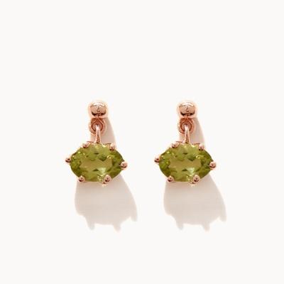 제이로렌 M03483 페리도트 원석 귀걸이
