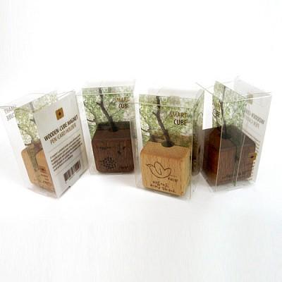 [퍼니피쉬] 나무자석 1개(아름다운세상) - 너도밤나무
