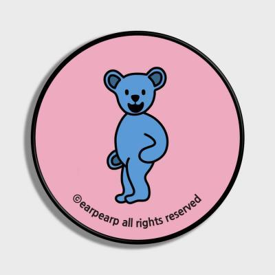 Hi bear-pink(스마트톡)