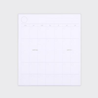 Half Diary S - White