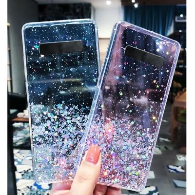 갤럭시노트10 플러스 노트9/반짝이 글리터 투명케이스