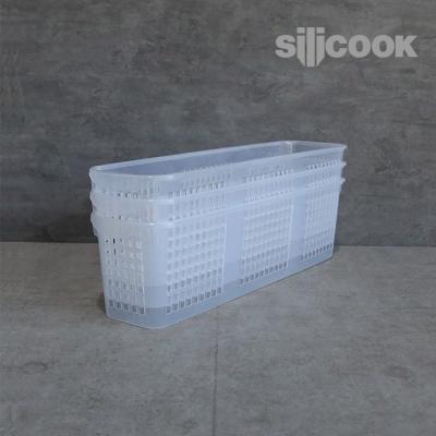 [실리쿡]냉장고문수납 롱트레이소 (3개)