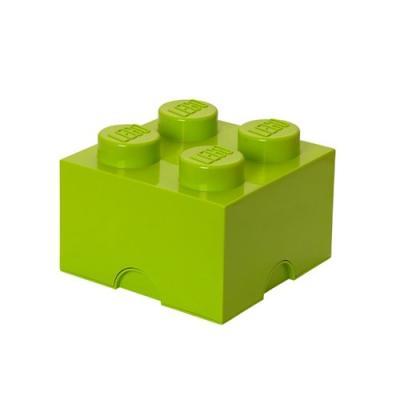 [레고 스토리지] 레고 블릭정리함 4 (라임그린)