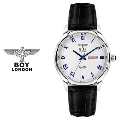 [BOY LONDON]보이런던 BLD5015M-SV 남성 가죽손목시계