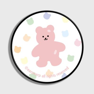 Bear friends-white(스마트톡)