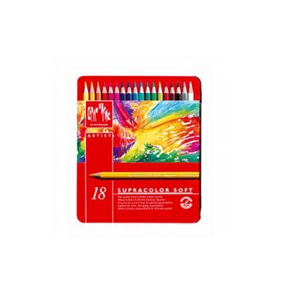 까렌다쉬 수채용-수프라컬러 18색 메탈박스 3888.318