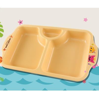 핑크퐁 옥수수간식접시(노랑) 0222