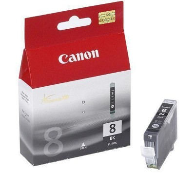 캐논(CANON) 잉크 CLI-8 BK / Black / Pro9000,Pro9000MKII,iP4200,iP4300,iP4500,MP530,MP610,MX850