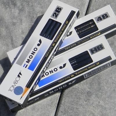 [TOMBOW] 잠자리의 전설..일본 톰보우 MONO-J 전문가용 연필-1다스 12개입