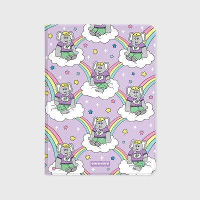 kkikki rainbow cloud-purple(아이패드-커버)