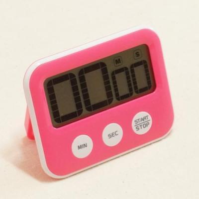 기본형 다용도 디지털 타이머 핑크 1개