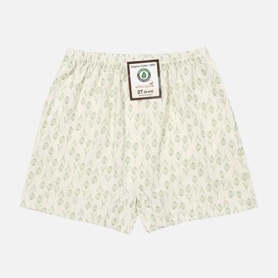 [위드오가닉] 오가닉 사각팬티 초록들꽃