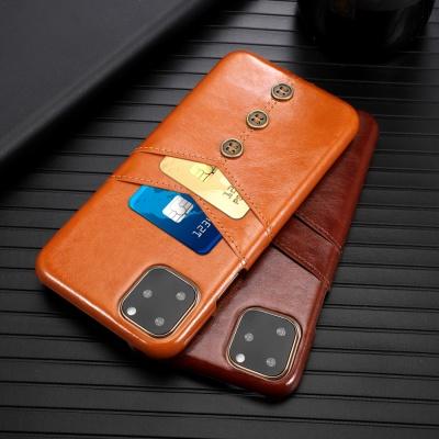 아이폰11 11프로 11프로맥스/가죽 카드 수납 폰케이스