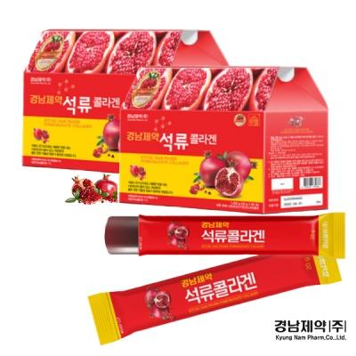 경남제약 석류콜라겐젤리 120포+석류콜라겐정 120정
