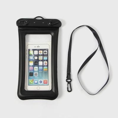 세이프 스마트폰 튜브 방수팩(블랙)/ 휴대폰방수팩