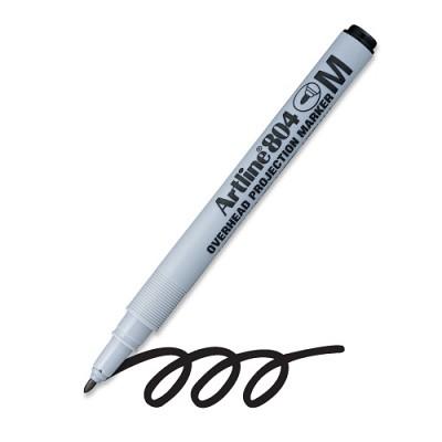 [아트라인]OHP 전용펜(물펜) M(1.0mm) EK-804 (흑/청/적)