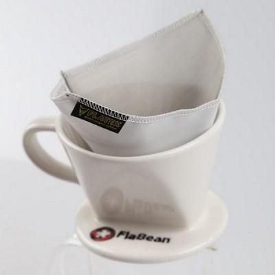 [플라빈] 플라텍스 스텐리스 메탈 커피 드립 필터 (칼리타/메리타용 필터)