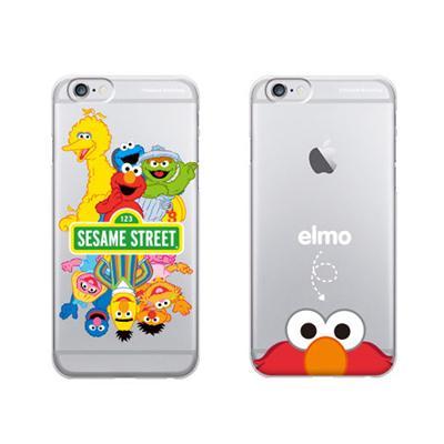 [G.CASE]지케이스 더슬림 클리어 세서미 스트리트 케이스-아이폰5/5S 아이폰6/6플러스