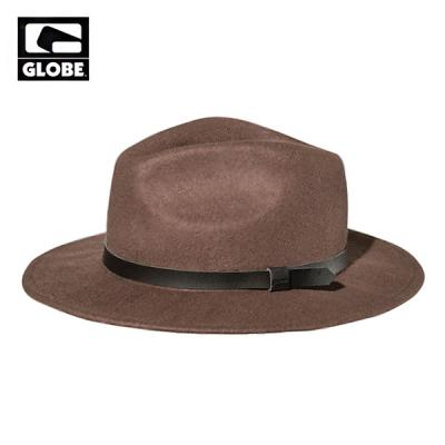 [GLOBE] COLLINS WOOL FELT BRIM HAT (BROWN)
