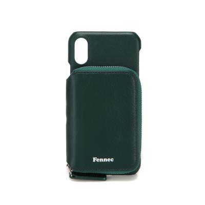 FENNEC iPHONE X/XS MINI POCKET CASE - MOSS GREEN