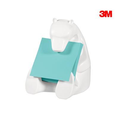 3M 포스트잇 디스펜서 곰인형 팝업