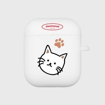 cat 에어팟 케이스 [white]