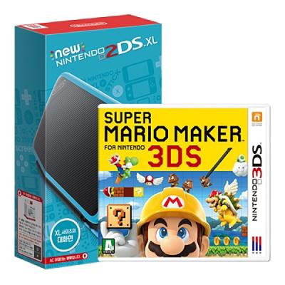 닌텐도 New 2DS XL + 슈퍼마리오메이커 3DS