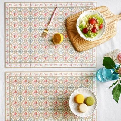 [2HOT] 아다마알마 패턴 방수 테이블매트