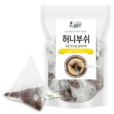 허니부쉬티백 허니부쉬차 25개 삼각티백차 식수대용