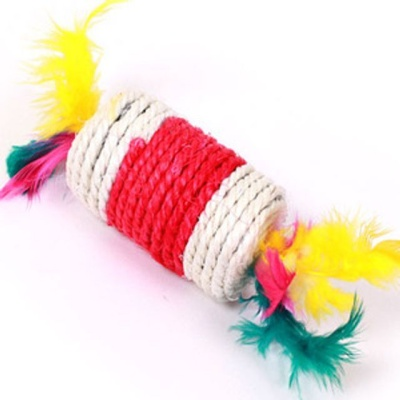 사이잘 강아지 장난감 터그놀이 실타래 장난감