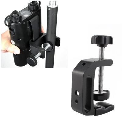 카메라 장비 Q타입 클램프 삼각대 스탠드 봉 파이프
