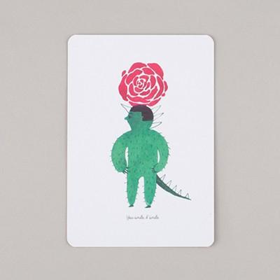 소-작 아티스트 카드 II : 더 캑터스 맨 4종