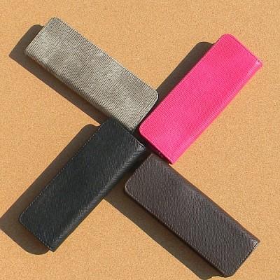 [innoworks] Splitting 공법으로 인조가죽의 자연스러움이 살아있는-이노웍스 펜 파우치 A214-5