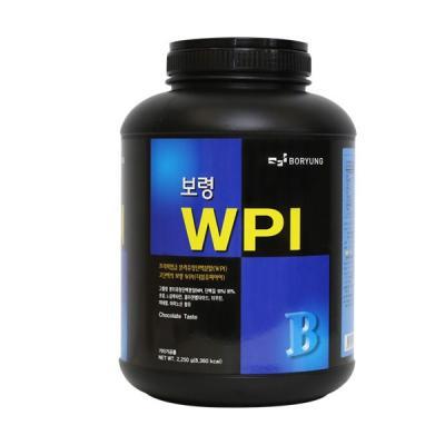 보령제약 헬스보충제 WPI2.25kg 분리유청 근육증강