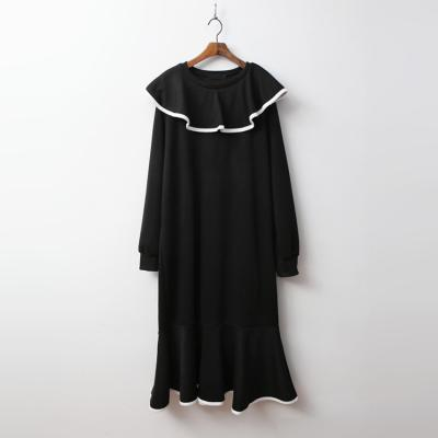 Gimo Princess Collar Long Dress