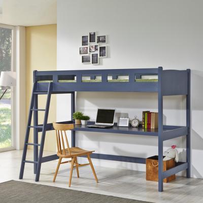 유럽형 벙커책상 이층 침대 (슬림매트) A02