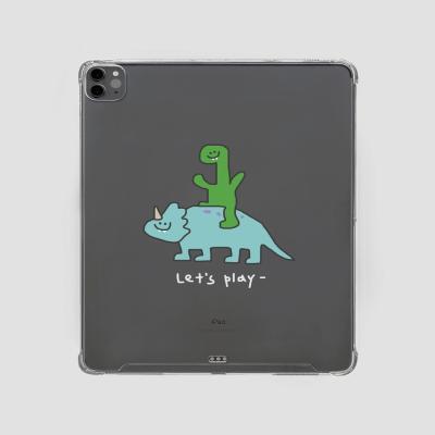 아이패드. 놀자 공룡