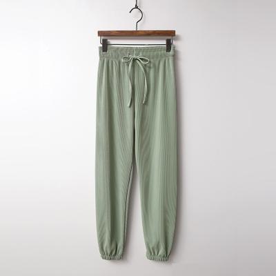 Spring Pleats Jogger Pants