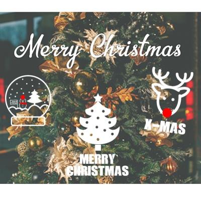 크리스마스 시즌 스티커 10종 S사이즈