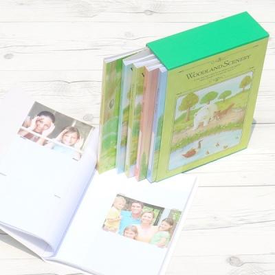 [Nakabayashi] 백일,돌,생일선물에는..360장수납 5권/팩...나카바야시 3단 포켓앨범 Woodland Scenery HF483