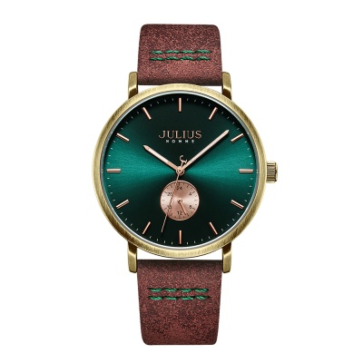 [쥴리어스 옴므 공식] JAH-112 남성시계 가죽시계