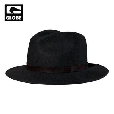 [GLOBE] COLLINS WOOL FELT BRIM HAT (BLACK)