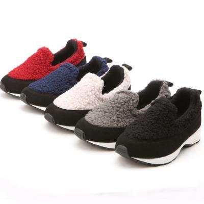 bl3102 유아동 남아 여아 털 슬립온 단화 신발