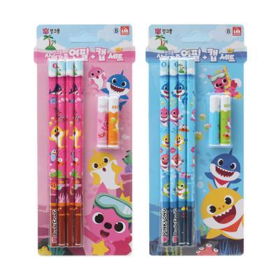 핑크퐁 연필캡세트