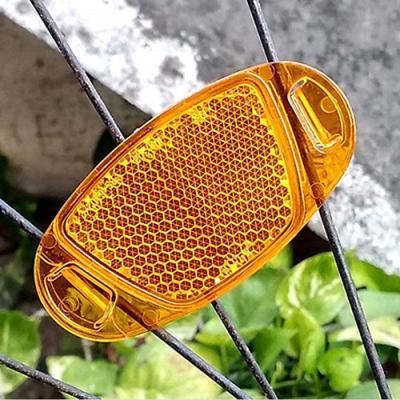 기본형 자전거 바퀴 반사판 1개(색상랜덤)