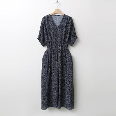 Dot Loose Long Dress