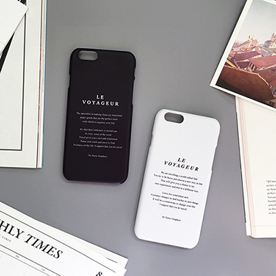 LE VOYAGEUR_iPhone6/6S case